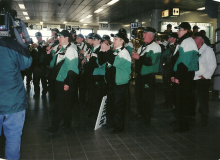 A performance at the airport.jpg