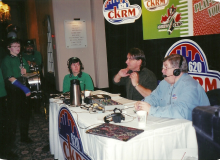 A spot on CKRM with Willie Cole.jpg