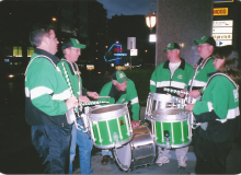An organizational practice in front of the hotel.jpg